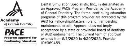 Dental Simulation Specialists Seminar